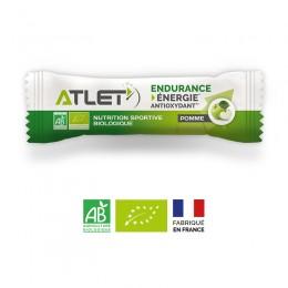 barre énergétique bio pour sportif pomme