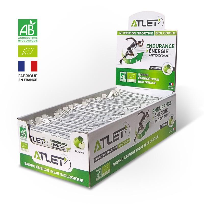 pack barres énergétiques bio pomme