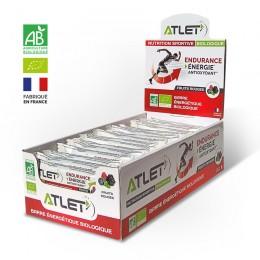 pack barres énergétiques bio fruits rouges