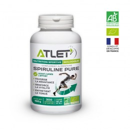 spiruline bio 100% pure pour sportifs
