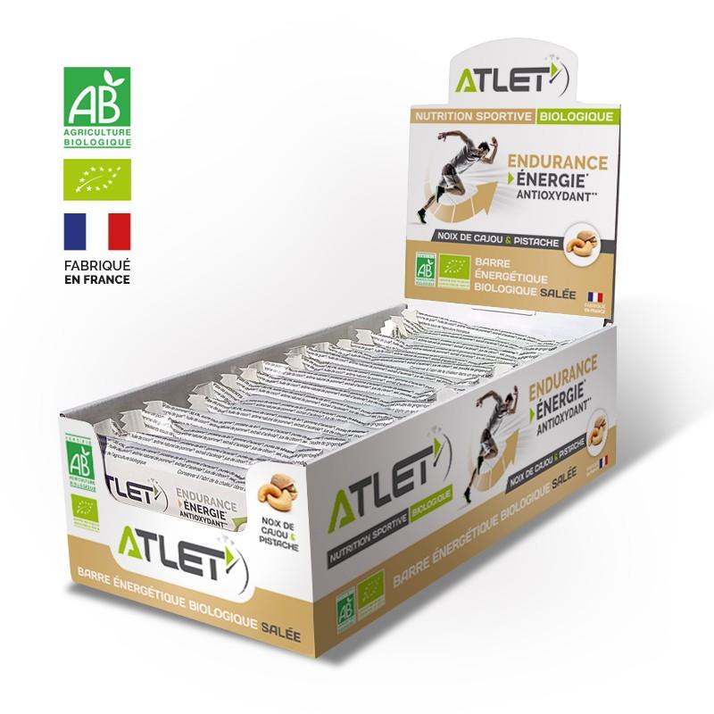 pack de barres salées énergétiques bio pour sportif