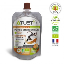 purée énergétique biologique ATLET
