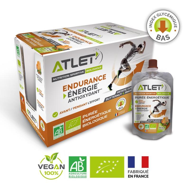pack purée énergétique biologique ATLET